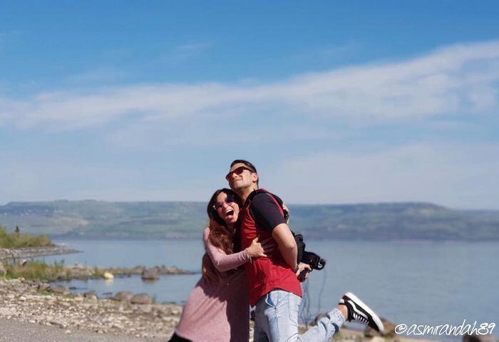 Turis Indonesia Dilarang ke Israel, Ini Liburan Pasangan Artis Jonas Rivano dan Asmir