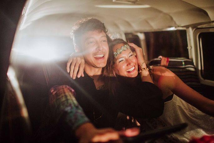 9 Potret Terbaru Nadine & Dimas Anggara, Pre Wedding Nih?
