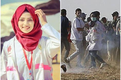 Kisah Razan Ashraf Najjar, Perawat Palestina yang Tewas Ditembak Israel
