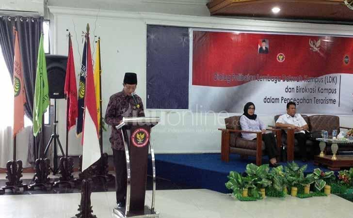 2017, Mahasiswa Unri Boikot Seminar Radikalisme BNPT Di Kampus