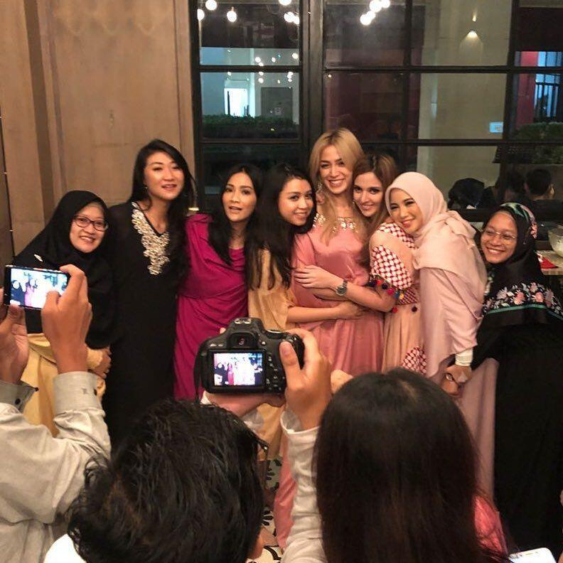 9 Momen Keseruan Buka Puasa Girls Squad Bareng Fans