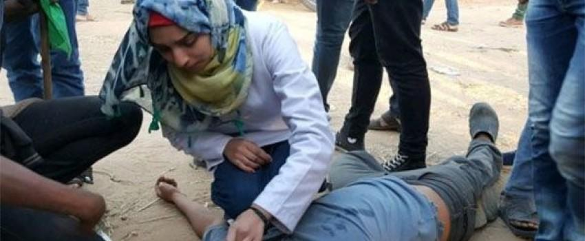 Ribuan Orang Padati Pemakaman Perawat yang Ditembak Tentara Israel