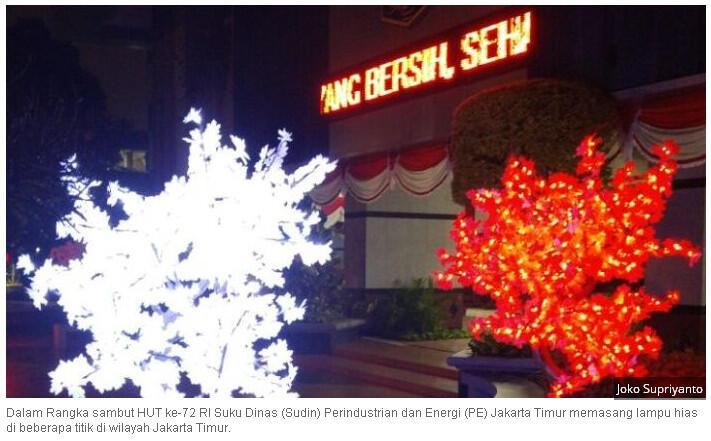 DKI Beli Pohon Imitasi Rp 8 Juta, Ini Harga di Toko Online