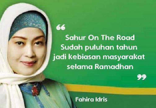 Polda Metro Larang Kegiatan Sahur on the Road