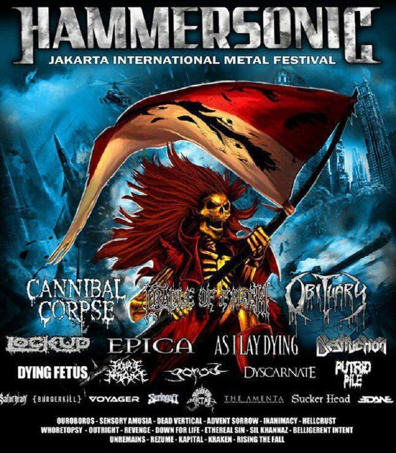 Hammersonic Festival 2018 Siap di Gelar