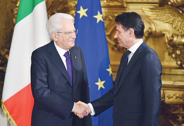 Giuseppe Conte Dilantik Jadi PM Italia