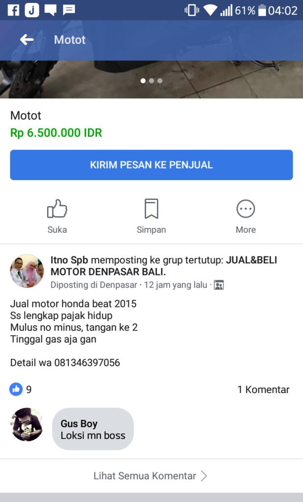 Waspada Penipu Berkedok Dokter Di Lampung Jual Motor Bekas Page 2