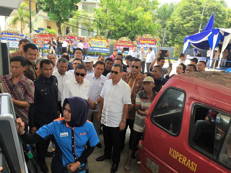 Jelang Mudik, Menteri Jonan Senang Premium Tersedia dengan Harga Jual Normal