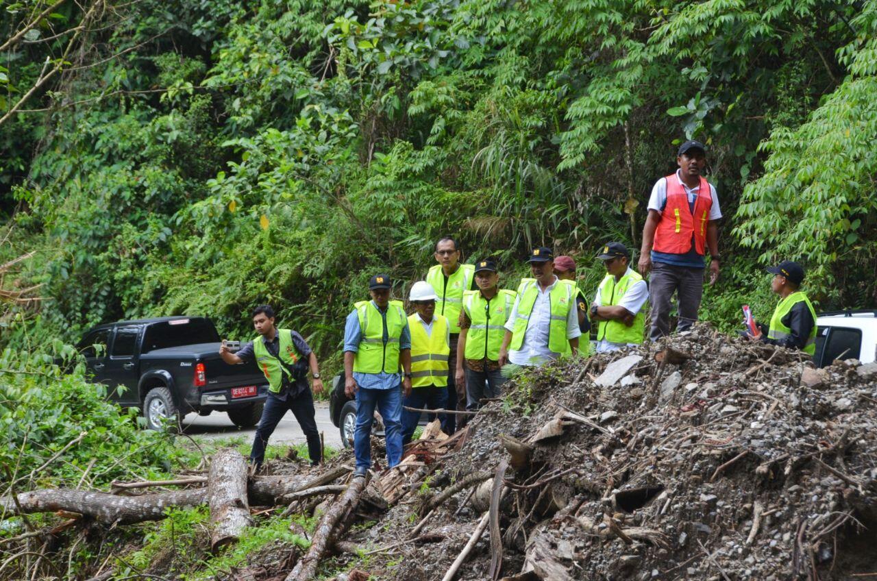 PUPR Tangani 23 Titik Longsor Jalan Nasional Pulau Seram