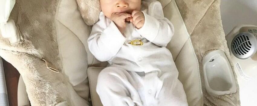 10 Potret Gemas Baby Raqeema, Anak Nabila Syakieb Beralis Badai