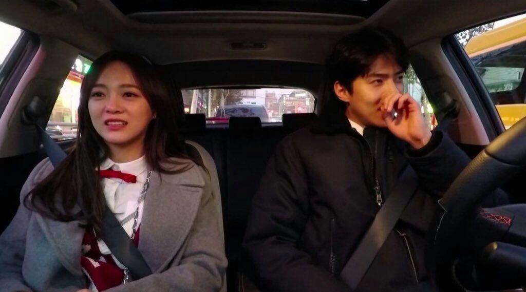 9 Foto Kedekatan Sehun & Sejeong Syuting Bareng yang Bikin Baper