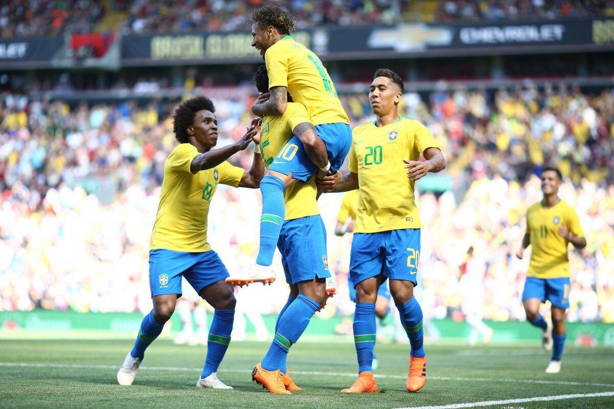 Neymar Kembali dari Cedera, Brasil Sukses Libas Kroasia
