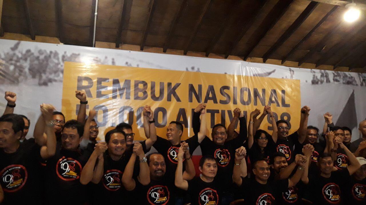 Aktivis '98 akan Selenggarakan Forum Rembuk Nasional di Monas