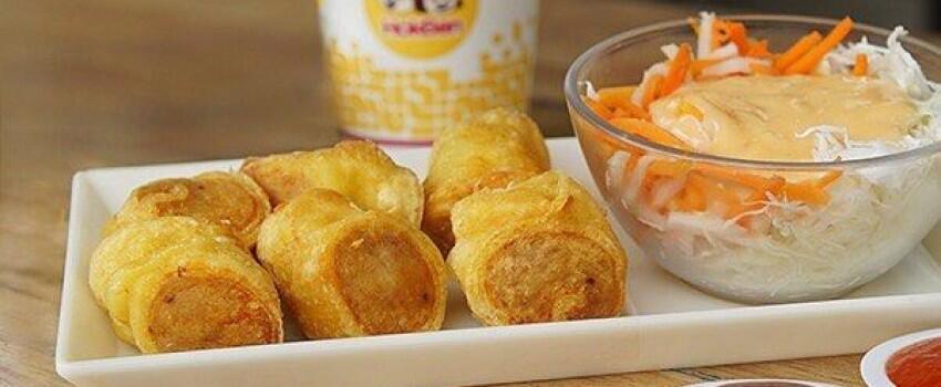 Yuk Bikin Egg Chicken Roll ala HokBen, Gampang Banget!