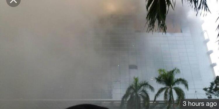 Setelah Gedung Niaga JIExpo Kemayoran, Kini Hotel Pullman Kebakaran