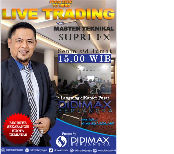 LIVE TRADING with Master Supri Fx (DIDIMAX BERJANGKA)
