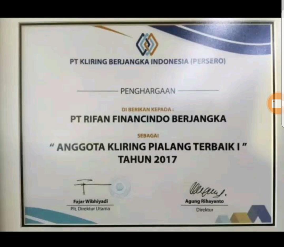 PT .Rifan Financindo Berjangka