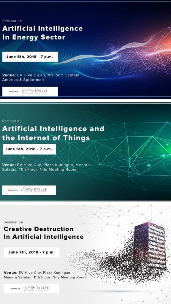 AI Seminars Series (Juni 2018)