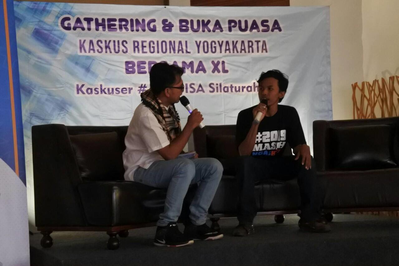 "Buka Bersama & Gathering KasKus Erye with XL ""Kaskuser #JadiBisaSIlaturahmi"""