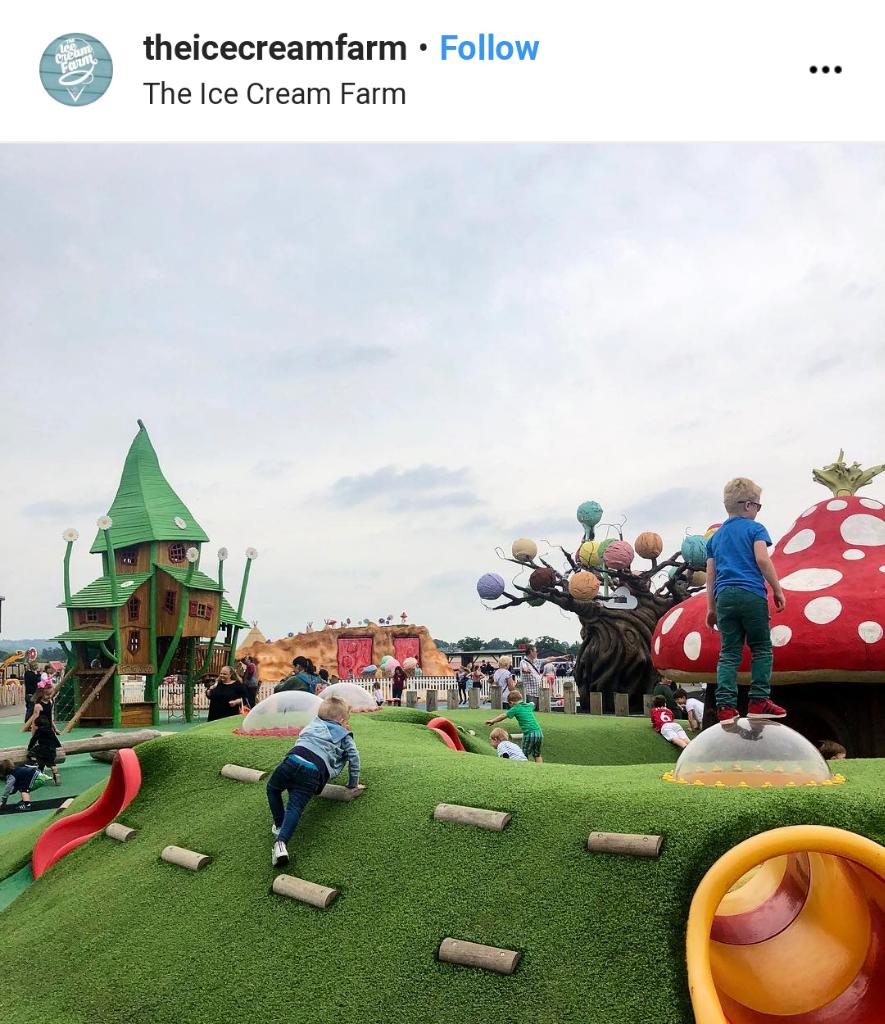Melihat Toko Es Krim Terbesar Di Dunia Dari Dekat