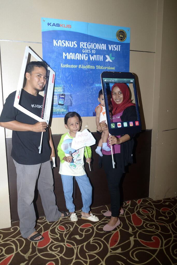 Serunya Regional Visit Malang Kaskus with XL - Kaskuser #Jadibisa SIlarurahmi