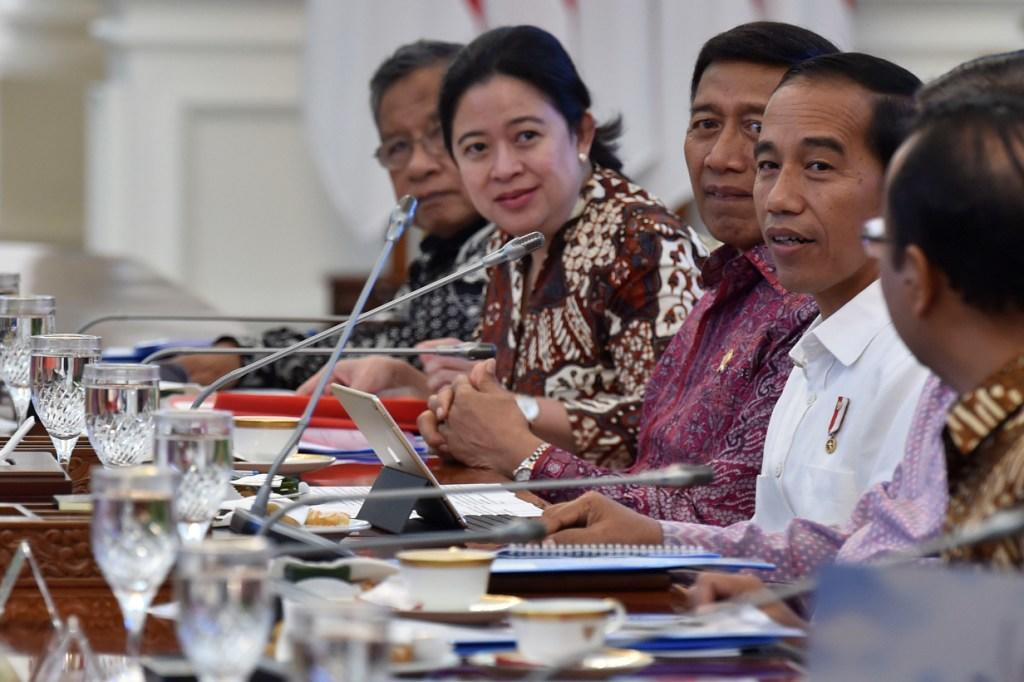 Jokowi Meletakkan Batu Pertama Pembangunan UIII