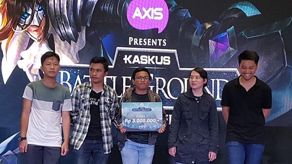 KASKUS Battleground Campus Arena Main Bareng AOV di BINUS!