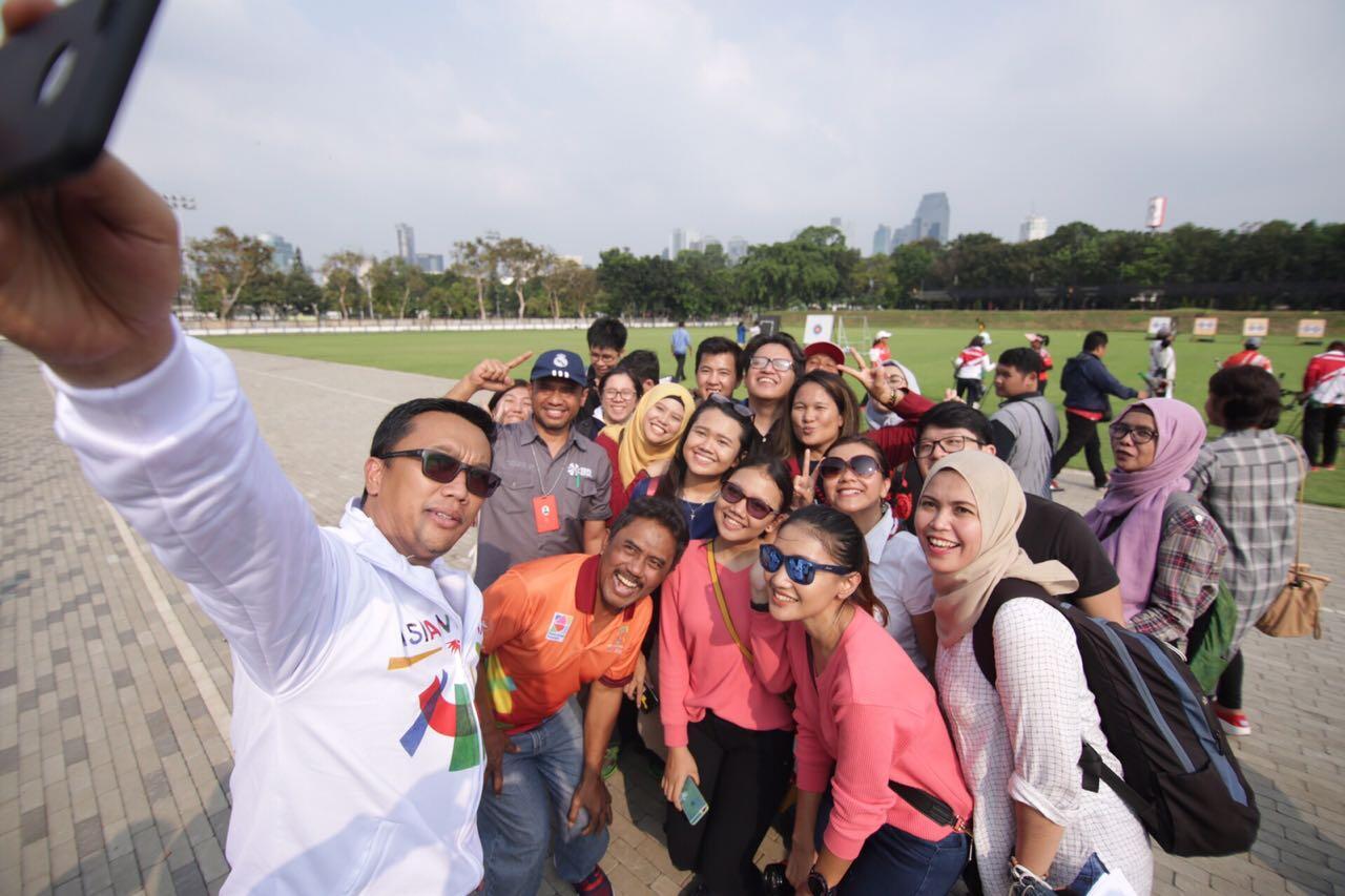 Menpora Ajak Pegiat Media Sosial Keliling GBK dan Tengok Pelatnas
