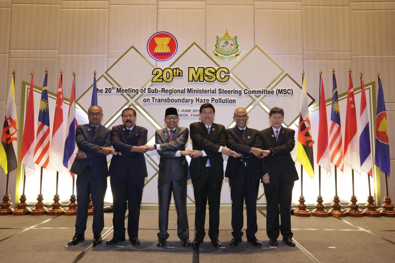 Negara ASEAN Apresiasi Keberhasilan Indonesia Cegah Karhutla