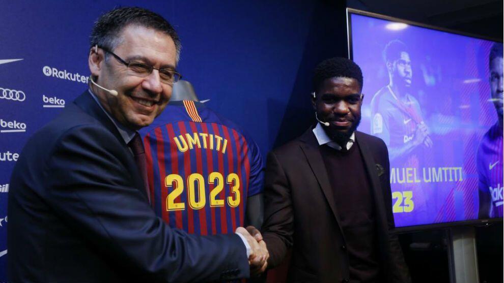 Pilih Bertahan di Barcelona Sampai 2023, Ini Alasan Samuel Umtiti