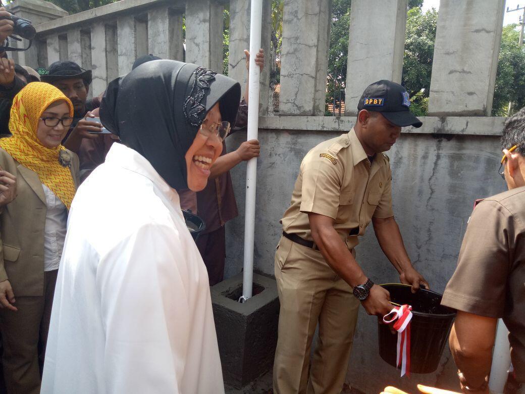 Risma: Surabaya Gunakan Compactor dan Garbage Bin Sejak 2010