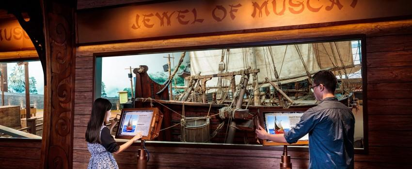 Menjelajah Dunia Bersama Para Pelaut di Maritime Experiential Museum