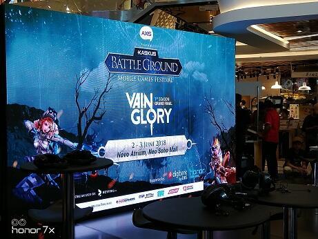 Honor Indonesia Hadir Memeriahkan Acara Kaskus BattleGround