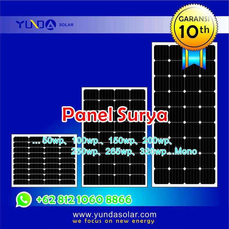 YUNDAsolar / Solar Panel / Panel Surya cari distr