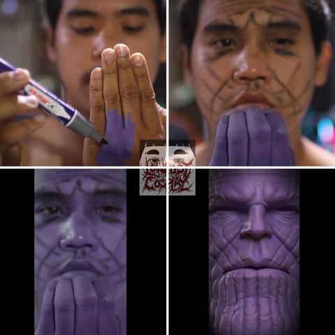 Asli ngakak.15 Foto Cosplay Low Cost Paling Gokil.ada Thanos Juga Ya