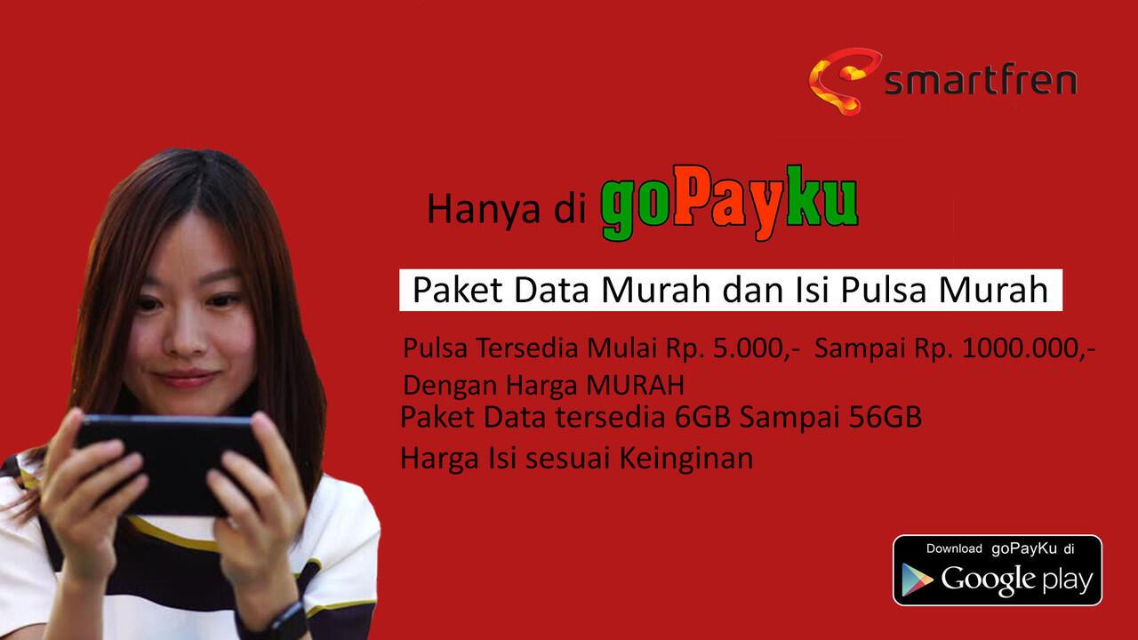 PROMO MURAH SMARTFREN PAKET DATA DAN ISI PULSA