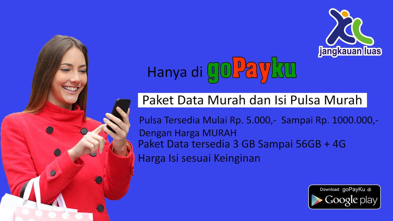PROMO MURAH XL PAKET DATA DAN ISI PULSA (LUAS DENGAN AKSES INTERNET YANG SUPER CEPAT)