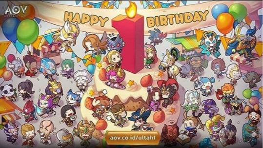 Gokil, membludaknya diva-diva peramai ulang tahun AoV yang pertama. Server Down !!!
