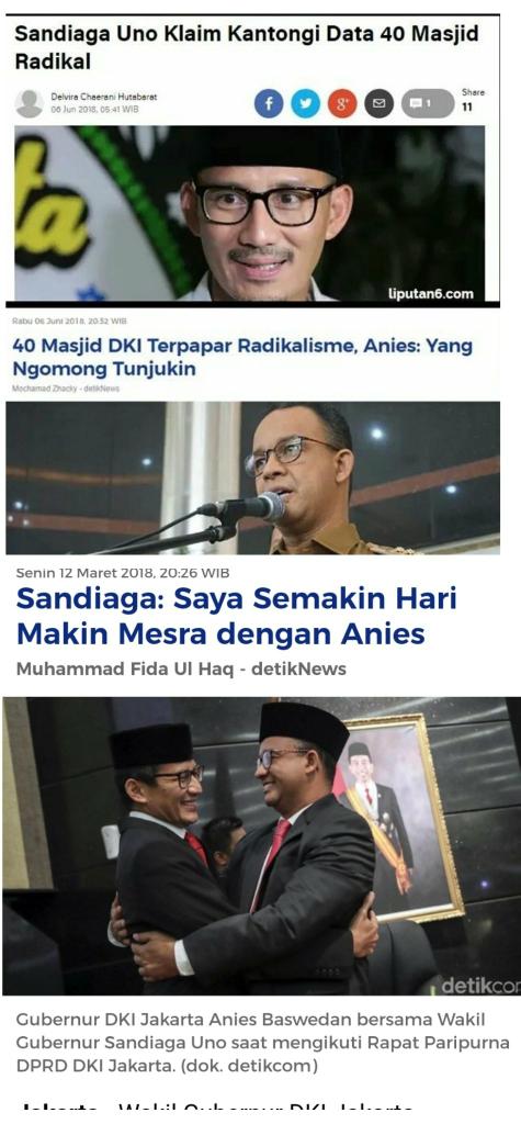 40 Masjid DKI Terpapar Radikalisme, Anies: Yang Ngomong Tunjukin