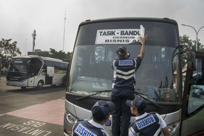 Pemeriksaan kelaikan bus mudik dikebut