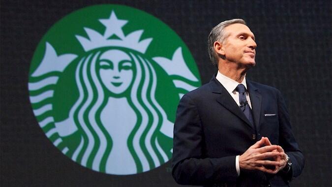 Howard Schultz Tinggalkan Starbucks