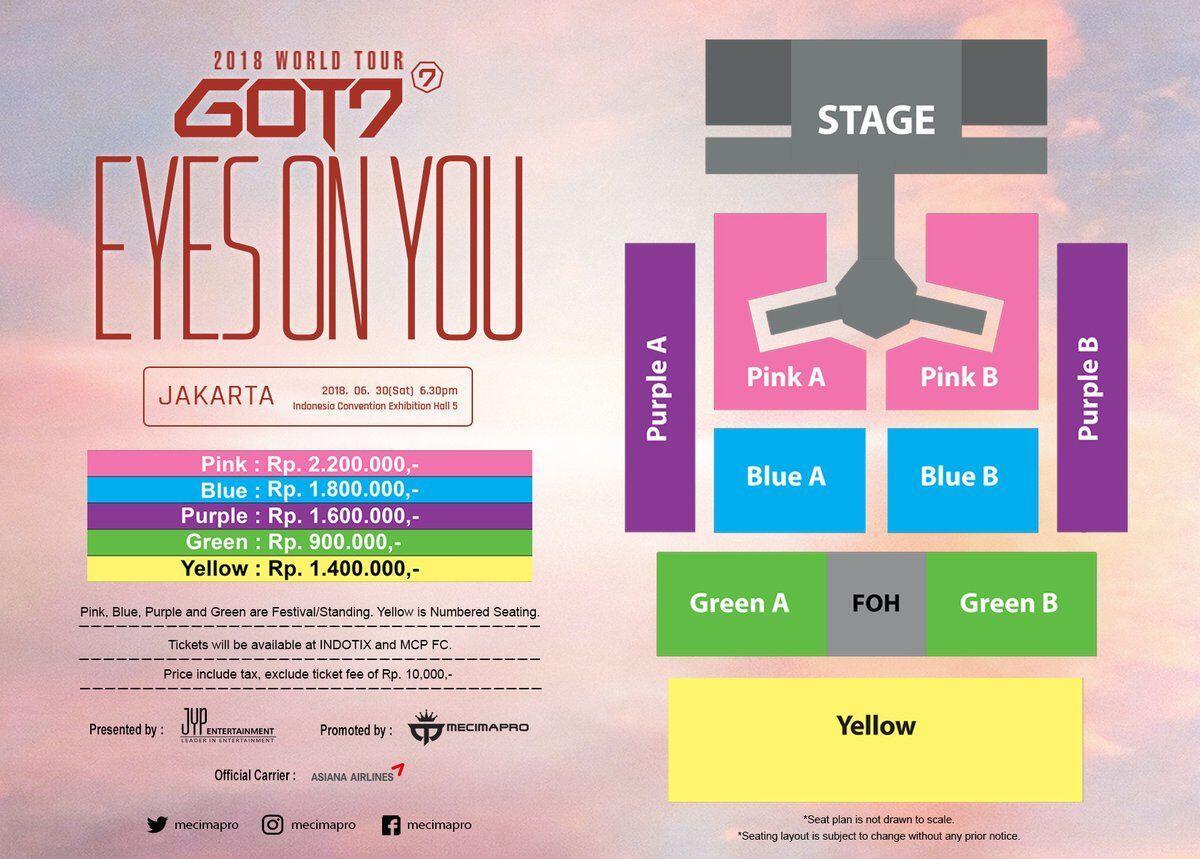 5 Alasan Kamu Gak Akan Nyesel Nonton Konser GOT7 di Jakarta