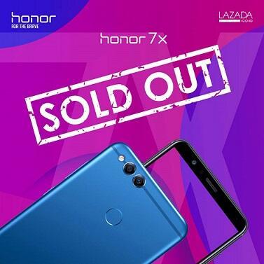Honor 7A Smartphone Murah ini SOLD OUT di Flash Sale Shopee Hari Ini