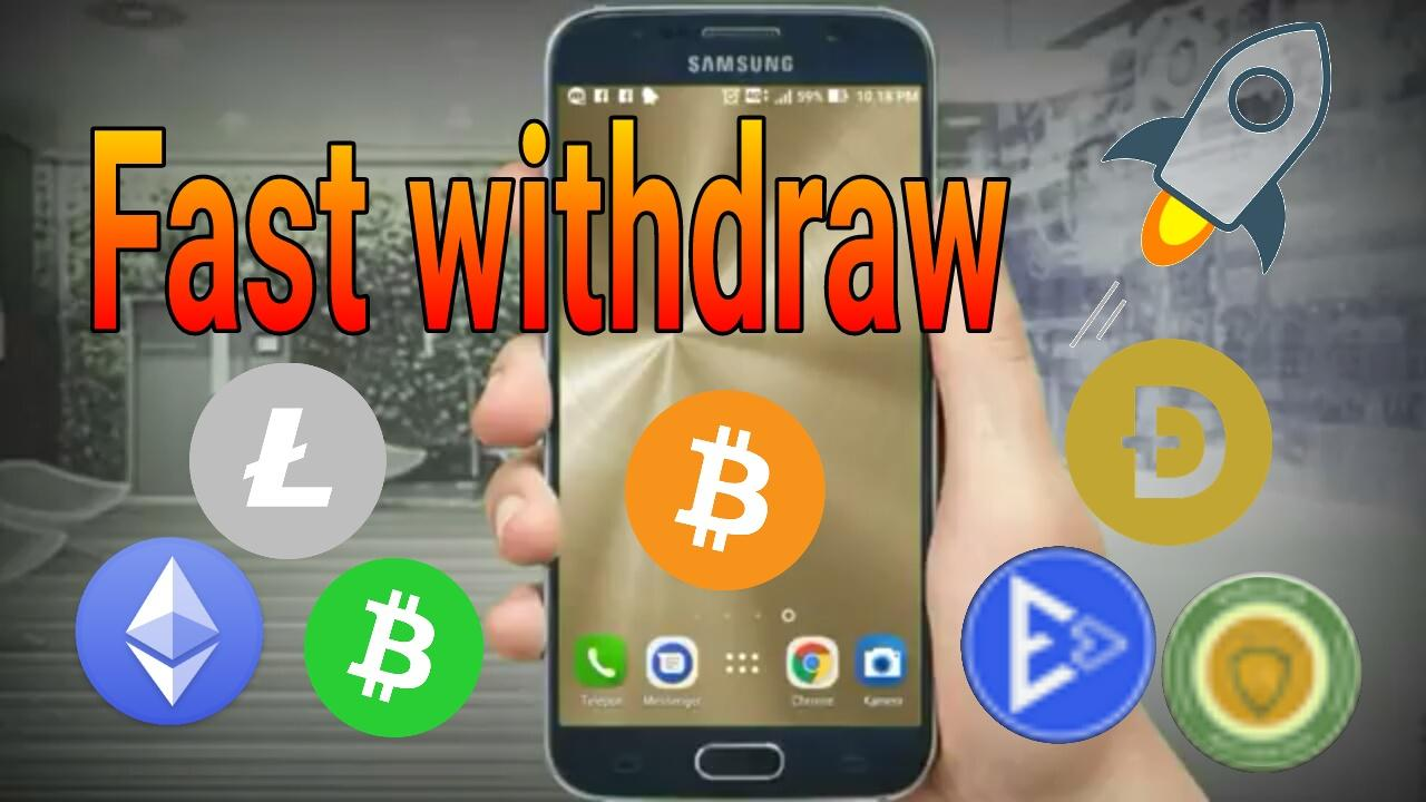 Uang Faucet mining fast withdraw