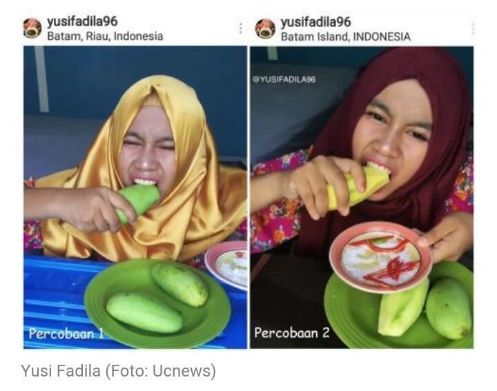Gara-gara Mukbang Makan Mangga, Yusi Fadila Diundang Jokowi ke Istana Presiden