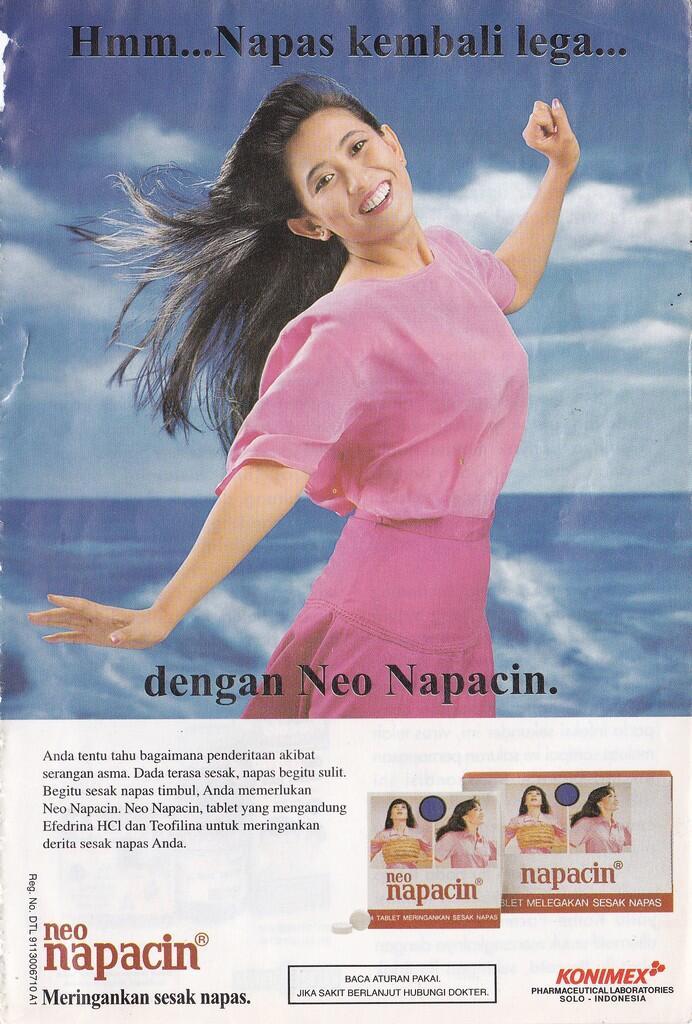 """Evolusi Cover Obat Asma """"Neo Napacin"""" Dari Masa Ke Masa"""