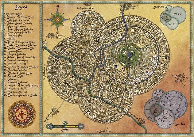 Peta yang (katanya) paling indah yang pernah dibuat dalam sejarah.