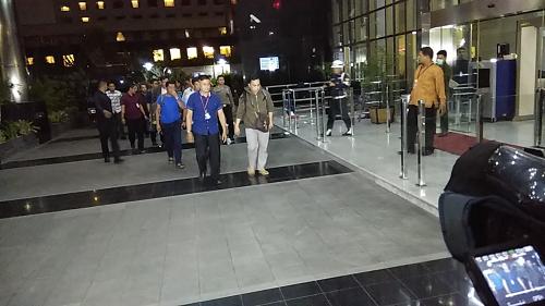 Kepala Dinas PUPR Tulungagung Tiba di Gedung KPK