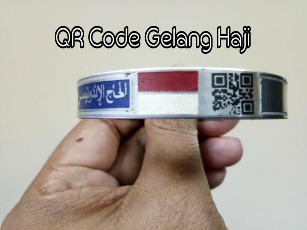 Gelang Jemaah Haji Indonesia 2018 Dilengkapi QR Code