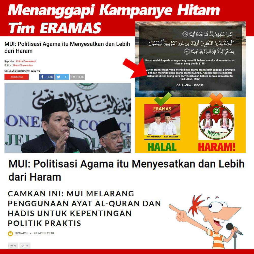 MUI: Politisasi Agama itu Menyesatkan dan Lebih dari Haram